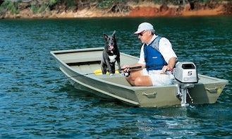 Jon Boat Fishing Charter in McIntyre, Georgia