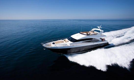 Luxury Motor Yacht Charter In Mumbai