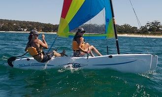 Beach Catamaran and Windsurf Rental in Playa Blanca Beach