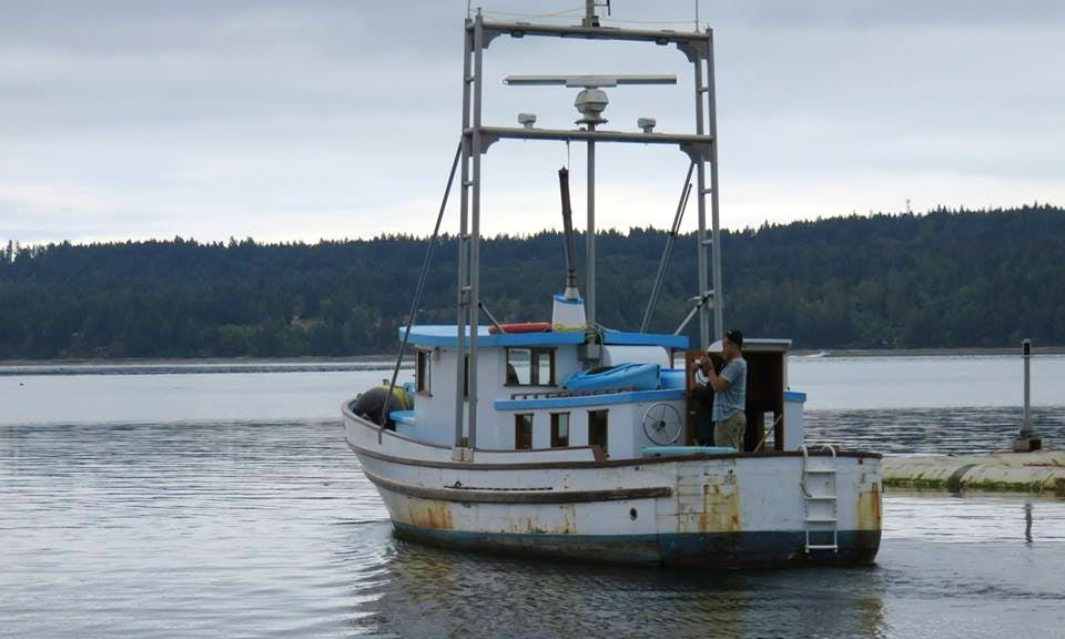 Aluminum Dive Boat In Courtenay