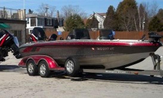 Guided Fishing On 20' Rigged Ranger Boat In Sevastopol, Wisconsin