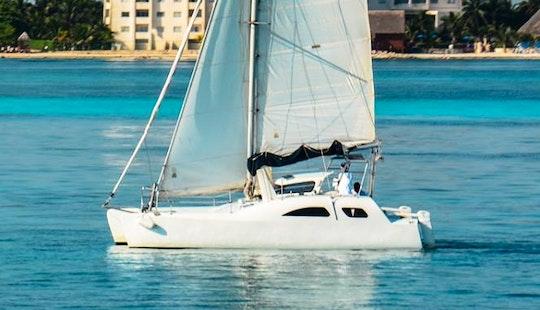 Nal Gone 32' Catamaran Charter In Cancún