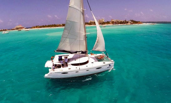 Megaira 50' Catamaran Charter In Cancún, Mexico