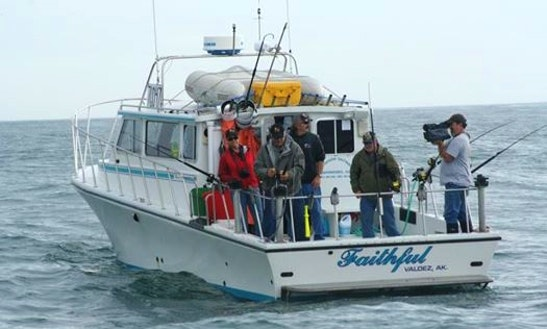 34' Trawler Charter In Anchorage, Alaska