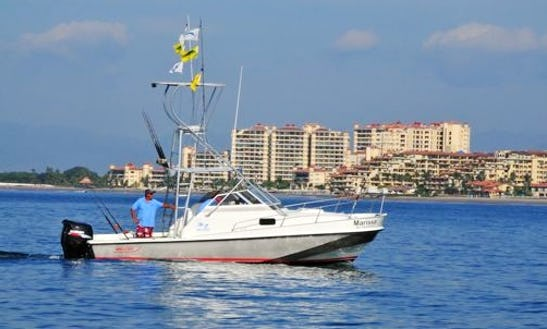 Puerto Vallarta Premier Fishing Charter Aboard 25' Boston Whaler For 6 Person