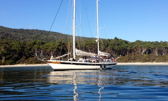 Fully Staffed Private Charter On 75' Sailing Gulet In Hagley, Australia