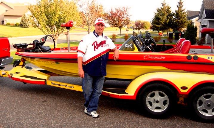 Ranger Bass Boat Fishing Trips in Wayzata, MN