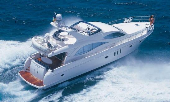 Charter On Power Mega Yacht Majesty 66 In Mumbai