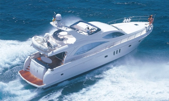 Charter On Power Mega Yacht Majesty 66 In Mumbai