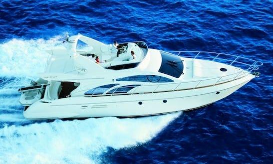 Charter On Ferretti 550 Power Mega Yacht In Mumbai
