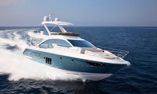 Charter On Azumit 50 Power Mega Yacht In Mumbai