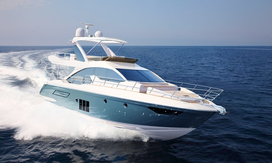 Charter On Azumit 50 Power Mega Yacht In Mumbai