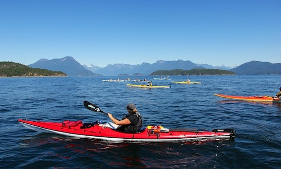 Single Kayak Rental In Powell River, Canada