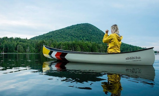 Canoe Rental In Powell River, Canada