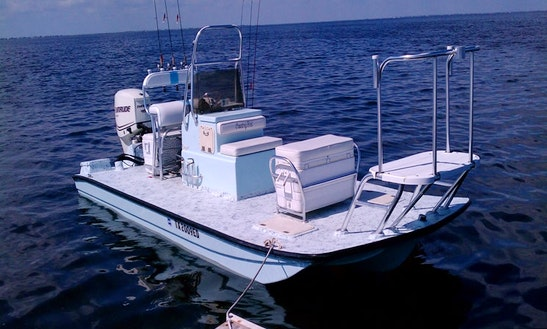 19' Guided Fishing Boat In South Padre Island