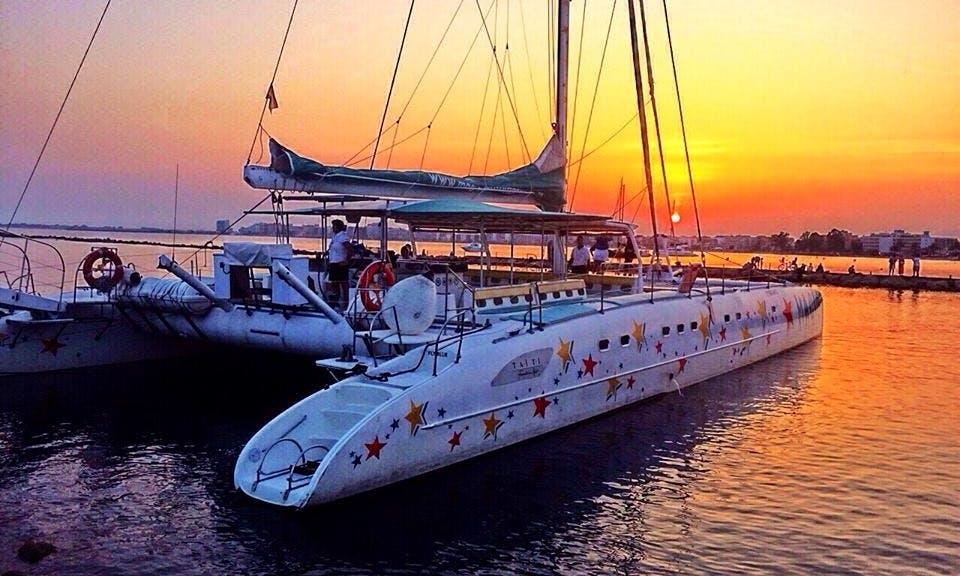 "50' Cruising Catamaran ""Freebird"" Charter in Catalunya, Spain"