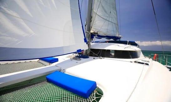 42ft Luxury Sailing Catamaran At Boracay