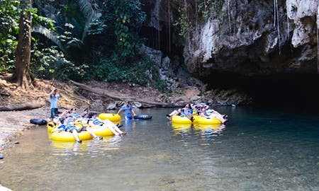 An exciting guided Cave Tubing Tour in Belize City, Belize