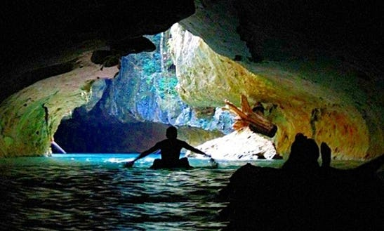 Jaguar Paw Cave Tubing In Placencia, Belize