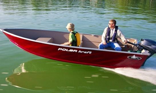 Polar Kraft 1470 Boat Rental In Selwyn, Canada