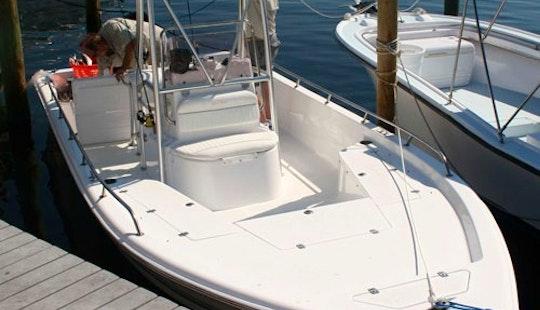 18' Fishing Boat In Panama City Beach