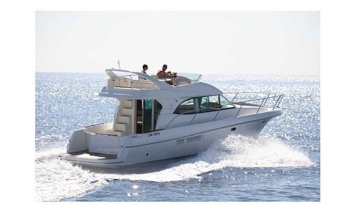 Charter on Motor Yacht Prestige in Panjim