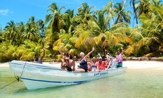 Snorkeling Tour Boat on Corn Island