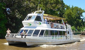 Charter this Power Catamaran for $1,500 per day in Tigre, Argentina