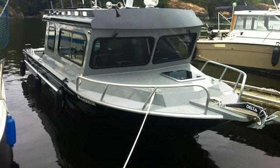 Charter 24' Seahawk Aluminum Cuddy Cabin In Victoria, Canada