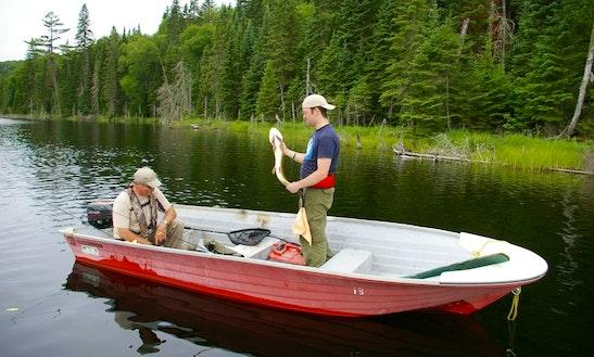 Fishing Trip Boat In Ferme-neuve