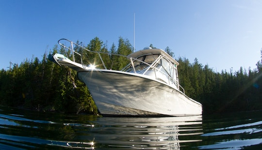 28' Fishing Charter In Tofino