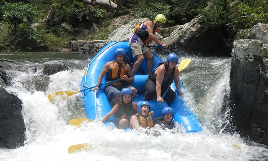 Rafting Trips In La Virgen, Costa Rica