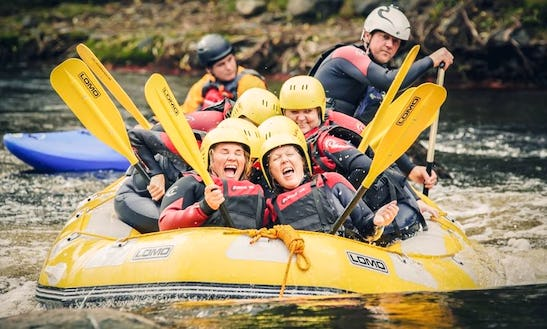 Come Enjoy The Adventures Of Rafting In Llangollen, United Kingdom