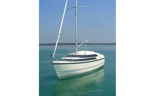 Charter on Macgregor 26 Sailing Yacht in Mumbai
