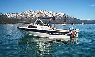 22' Cuddy Cabin Fishing Charter in South Lake Tahoe, California