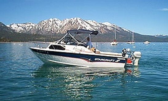 22' Cuddy Cabin Fishing Charter In South Lake Tahoe, California