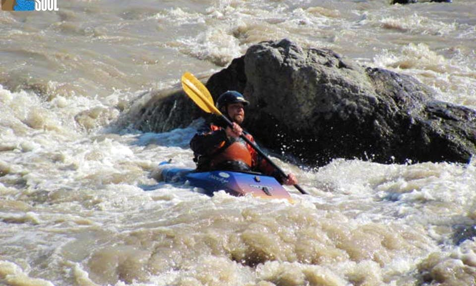 Whitewater Kayak Courses in San José de Maipo, Chile