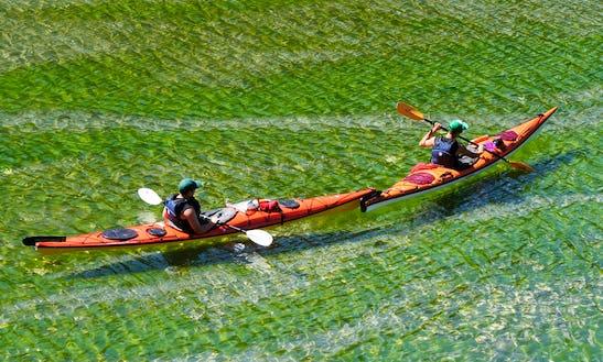 Single Kayak Rental, Lessons & Tours In British Columbia