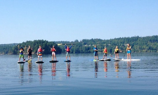 Sup Rental, Lessons & Tours In British Columbia