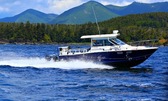 29' Trophy Inshore & Offshore Fishing In Ucluelet
