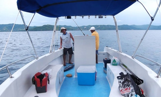 Rent The 12 Person Center Console With A Captain In Playa Hermosa, Costa Rica