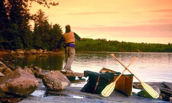 Deluxe Canoe Fishing Trip In Ely