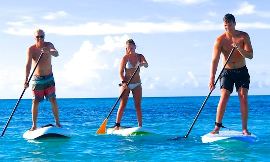 Stand Up Paddleboard Rental In Grace Bay