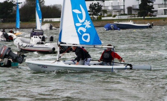 Double Dinghy Sailing Hire & Courses In Christchurch