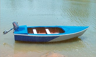 4-seat motor boat for rent in Hanumangarh, India
