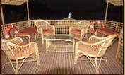 Three Bedroom Houseboat Charter in Goa