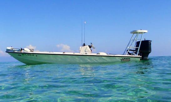 18' Bass Boat Charter In Oak Hill, Florida