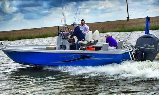 24' Center Console Fishing Boat In Dularge, Louisiana United States