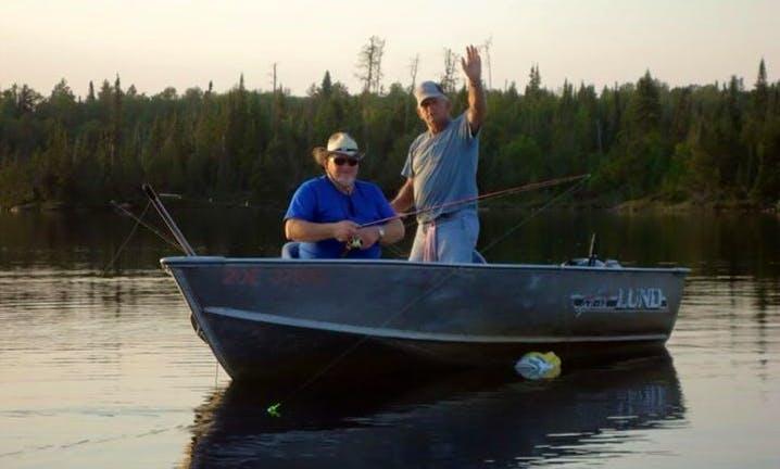 Jon Boat Walleye Fishing Trips in Fort Frances