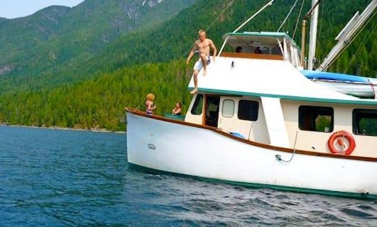 50' Trawler Yacht, All Inclusive, Bc. Coast